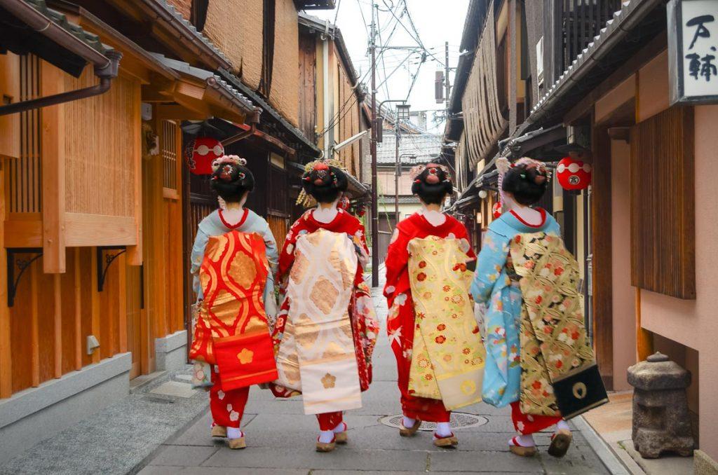 Walk through the geisha quarters of Gion, visit temples & shrines.  Read More!